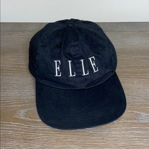 ELLE Ball Cap Black